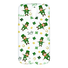 St Patricks Day Pattern Samsung Galaxy S4 I9500/i9505 Hardshell Case