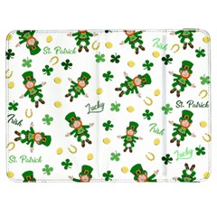 St Patricks Day Pattern Samsung Galaxy Tab 7  P1000 Flip Case
