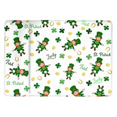 St Patricks Day Pattern Samsung Galaxy Tab 10 1  P7500 Flip Case