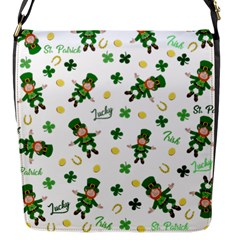 St Patricks Day Pattern Flap Messenger Bag (s)