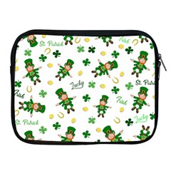 St Patricks Day Pattern Apple Ipad 2/3/4 Zipper Cases