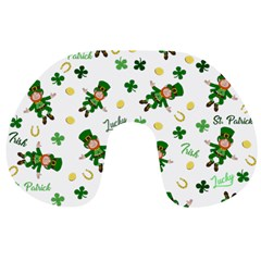 St Patricks Day Pattern Travel Neck Pillows