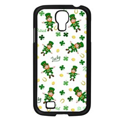 St Patricks Day Pattern Samsung Galaxy S4 I9500/ I9505 Case (black)
