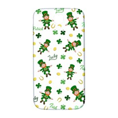 St Patricks Day Pattern Samsung Galaxy S4 I9500/i9505  Hardshell Back Case
