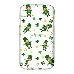 St Patricks Day Pattern Samsung Galaxy S4 Classic Hardshell Case (pc+silicone)