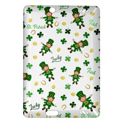 St Patricks Day Pattern Amazon Kindle Fire Hd (2013) Hardshell Case