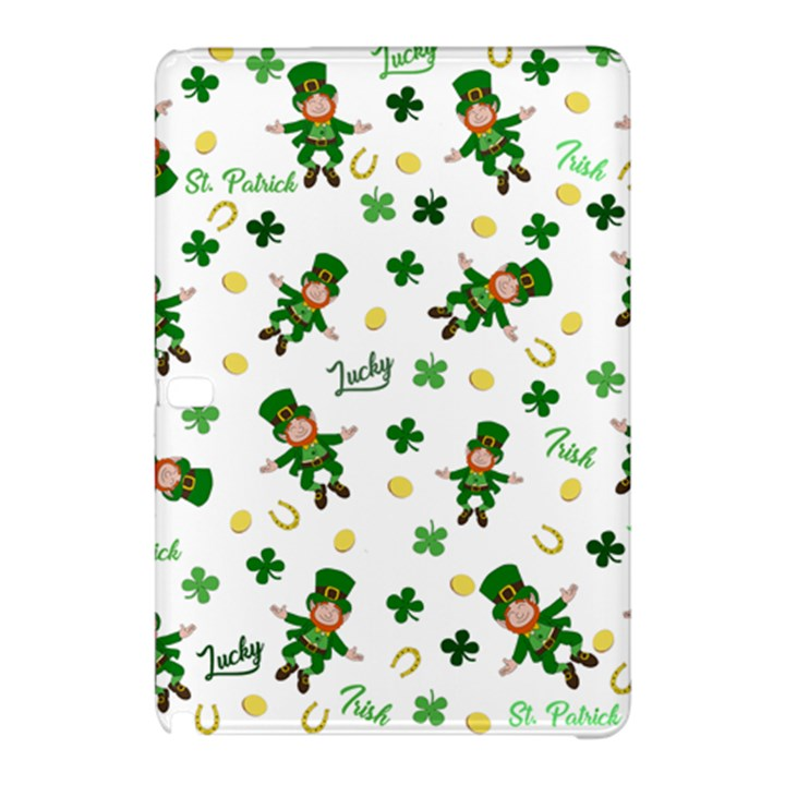 St Patricks day pattern Samsung Galaxy Tab Pro 10.1 Hardshell Case