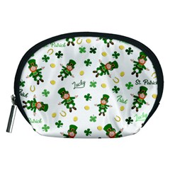 St Patricks Day Pattern Accessory Pouches (medium)