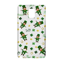 St Patricks Day Pattern Samsung Galaxy Note 4 Hardshell Case