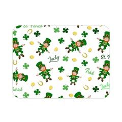 St Patricks Day Pattern Double Sided Flano Blanket (mini)