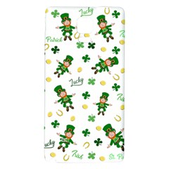 St Patricks Day Pattern Galaxy Note 4 Back Case