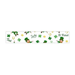 St Patricks Day Pattern Flano Scarf (mini)