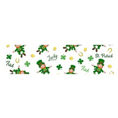 St Patricks Day Pattern Satin Scarf (oblong)