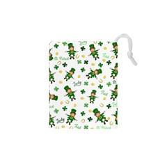 St Patricks Day Pattern Drawstring Pouches (xs)