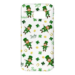 St Patricks Day Pattern Samsung Galaxy S7 Edge Hardshell Case