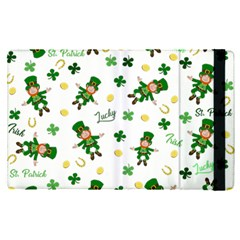 St Patricks Day Pattern Apple Ipad Pro 9 7   Flip Case