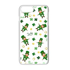 St Patricks Day Pattern Apple Iphone 7 Plus Seamless Case (white)