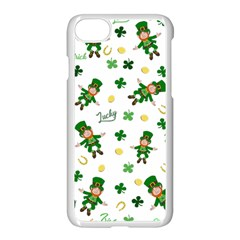 St Patricks Day Pattern Apple Iphone 7 Seamless Case (white)