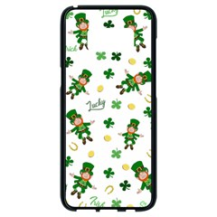 St Patricks Day Pattern Samsung Galaxy S8 Black Seamless Case