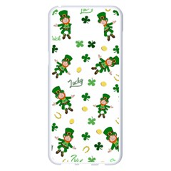 St Patricks Day Pattern Samsung Galaxy S8 Plus White Seamless Case