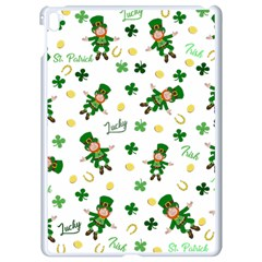 St Patricks Day Pattern Apple Ipad Pro 9 7   White Seamless Case