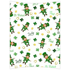 St Patricks Day Pattern Back Support Cushion