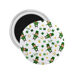 St Patricks Day Pattern 2 25  Magnets