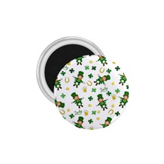 St Patricks Day Pattern 1 75  Magnets