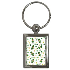 St Patricks Day Pattern Key Chains (rectangle)