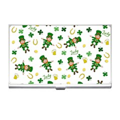 St Patricks Day Pattern Business Card Holders