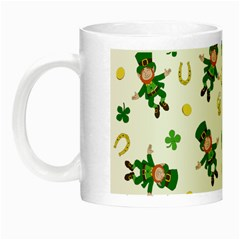 St Patricks Day Pattern Night Luminous Mugs