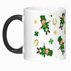St Patricks Day Pattern Morph Mugs