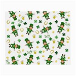St Patricks day pattern Small Glasses Cloth Front