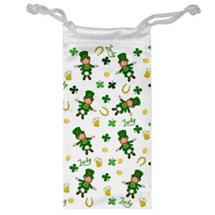 St Patricks Day Pattern Jewelry Bag
