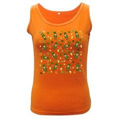 St Patricks Day Pattern Women s Dark Tank Top