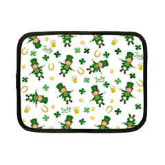 St Patricks Day Pattern Netbook Case (small)