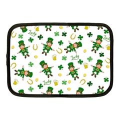 St Patricks Day Pattern Netbook Case (medium)
