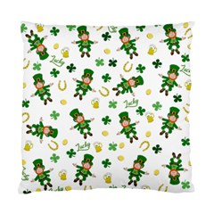 St Patricks Day Pattern Standard Cushion Case (one Side)
