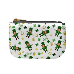St Patricks Day Pattern Mini Coin Purses
