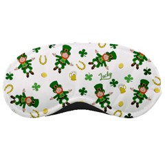St Patricks Day Pattern Sleeping Masks