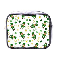 St Patricks Day Pattern Mini Toiletries Bags