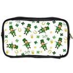 St Patricks day pattern Toiletries Bags Front