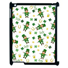 St Patricks Day Pattern Apple Ipad 2 Case (black)