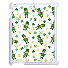 St Patricks Day Pattern Apple Ipad 2 Case (white)