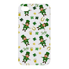 St Patricks Day Pattern Apple Iphone 4/4s Hardshell Case