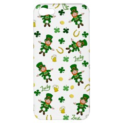 St Patricks Day Pattern Apple Iphone 5 Hardshell Case