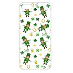 St Patricks day pattern Apple iPhone 5 Seamless Case (White) Front