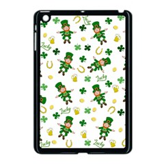 St Patricks Day Pattern Apple Ipad Mini Case (black)