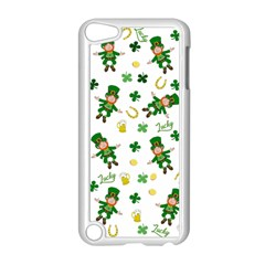 St Patricks Day Pattern Apple Ipod Touch 5 Case (white)