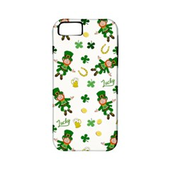 St Patricks Day Pattern Apple Iphone 5 Classic Hardshell Case (pc+silicone)